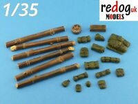 1:35 US M4 Sherman  tank  - stowage kit. // 35sh1