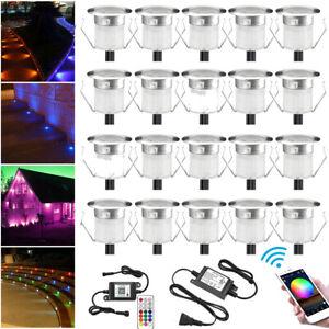RGB/RGBW WIFI Bluetooth Controller Timer Dimmer LED Pool Garden Yard Deck Light