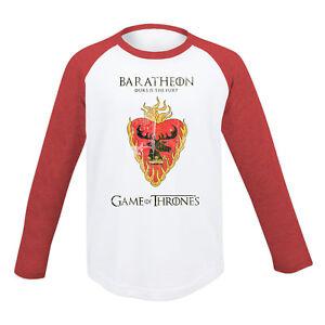 KIDS Game Of Thrones House Baratheon Crest Boys Girls Dire Wolf Stark Targaryen