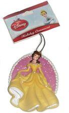 Disney Princess Belle Ornament Beauty Beast Golden Yellow Dress Christmas
