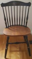 Fabulous Vintage Solid Wood Spindle Back Dining Side Chair - VGC - GREAT DESIGN