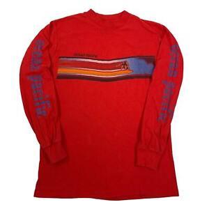 "Vintage Ocean Pacific ""Surf"" Long Sleeve Shirt Sz M"