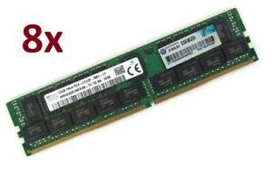 256GB HP 8x 32GB 728629-B21 774175-001 752370-091 DDR4 ECC RAM PC4-2133P-R REG