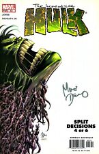 The Incredible Hulk #63 Split Decisions Signed By Artist Mike Deodato Jr,