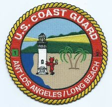 United States Coast Guard Uscg patch, Los Angeles/Long Beach 5 in dia