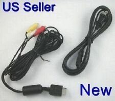 Playstation 2 1 AV cables & AC Power Adapter Cord SET (6 MONTH WARRANTY)