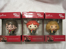 Hallmark Ornament 2017 Harry Potter Hermione Granger Ron Weasley Red Box New
