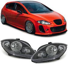Scheinwerfer H1 H7 schwarz Paar für Seat Leon 1P1 05-09 Altea Toledo 5P 04-06