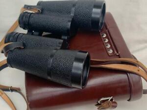 Carl Zeiss 10x50 Binoculars in Original Leather Carry Case.