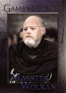 MAESTER WOLKAN (Richard Rycroft) / Game of Thrones Season 8 (2020) BASE Card #56