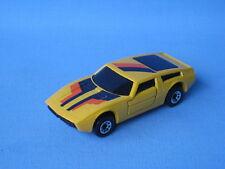 Matchbox Super GT Maserati Bora Yellow Body UK Issue UB Sports Toy Model Car