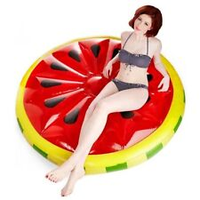 Watermelon Inflatable Pool Float Adults Kids Outdoor Swimming Vacation Beach