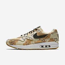 Nike Air Max 1 Men's Size 8.5 Desert Camo Premium Running Shoes 875844-204