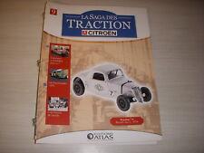 SAGA TRACTION CITROEN 09 TRACTION 7S RECORDS YACCO 34 MONTLHERY NOUVELLE ZELANDE