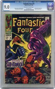 Fantastic Four #76 CGC 9.0 1968 0144052001