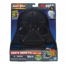 ANGRY BIRDS STAR WARS TELEPODS DARTH VADER PIG CARRY CASE NEW IN BOX!