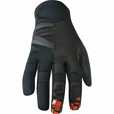Madison Winter Storm men's softshell gloves, black / red