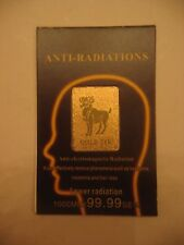 Gold-24K Anti Radiation Patch Sticker 99% Radiation Protection