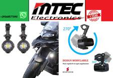 COPPIA FARI SUPPLEMENTARI LED FARETTI MOTO BENELLI TRK 502 IP67 KAWASAKI KTM