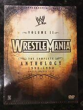 WWE - Wrestlemania Anthology: Vol. 2 (DVD, 2005, 5-Disc Set) NEW