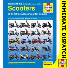 [4082] Twist and Go (Auto Transmission) Scooters 50-250cc Haynes Workshop Manual