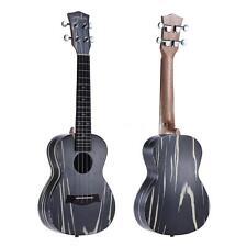 """ammoon 24"""" Wooden Acoustic Soprano Ukulele Ukelele 18 Frets Okoume Neck Z1K7"""