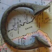 Old 18th Century Bronze Manilla Penanular African Slave Trade Bracelet Money f