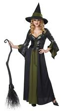 Classic Witch Long Gothic Dress Costume Size X-Small 4-6