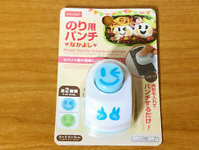 Seaweed Puncher Bento Luch Decoration tool for laver WInk Face Daiso Japan
