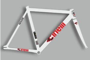 CINELLI MASH Bicycle Bike Frame Decal Sticker Adhesive Set Vinyl Sheet Red