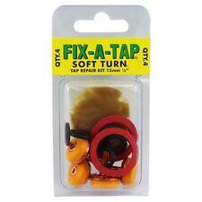 """Fix-A-Tap Soft Turn Tap Repair Kit 13mm (1/2"""" inch) soft turn - 4pc"""