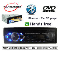 Radio de coche Bluetooth USB/AUX/SD DVD/CD ROM 1 Din Estéreo Reproductor MP4/MP3