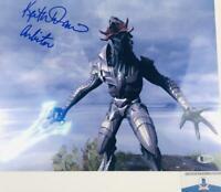 Keith David signed Arbiter 11X14 METALLIC photo HALO BAS H32746