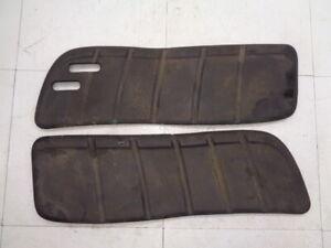 Floor board mat grip set John Deere LT155 LT 155 lawn tractor R1A