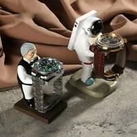 Astronaut Watch Stand Old Housekeeper Jewelry Display Watch Storage  Case Box