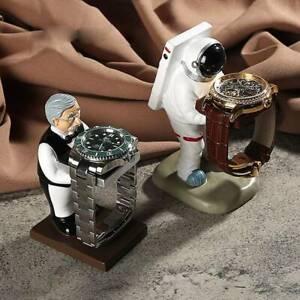 Astronaut Watch Stand Old Housekeeper Jewelry Display Watch Storage  Case Box