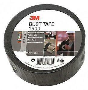 NEW 3M 1900 PE Coated Duct Tape 50mm x 50m x 0.17mm
