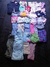 31 Piece Girls Clothing Lot Nice Used Size 24 Month 2t Girl Fall / Winter L19