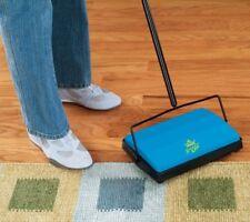 Floor Cordless Push Roller Brush Sweeper Carpet Cleaner Sweep Vacuum