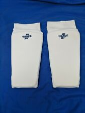 Adams Usa Forearm Protector Arm-Guard One Pair (White,  00006000 S)