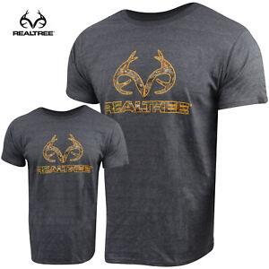 Realtree Antler T-Shirt (2X)- Nailhead Heather/RTE