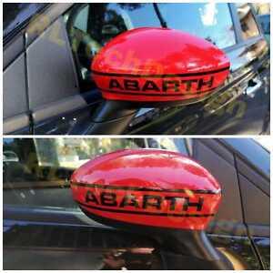 Adesivo adhesive sticker specchietti mirror 500 500c 595 695 Abarth APA calotte