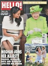 HELLO MAGAZINE #1538 ~ 25th JUNE 2018 ~ MEGHAN JOINS HER MAJESTY ~ NEW ~
