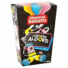 Maynards Bassetts Liquorice (Licorice) Allsorts 400g Carton