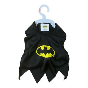 NWT DC Comics Batman Harness With Cape, Dog Costume, Size S