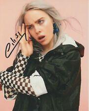 Billie Eilish Autographed 8 x 10 Glossy Photo Reproduction