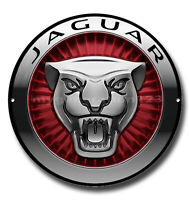 "JAGUAR 11"" ROUND METAL SIGN. CLASSIC CARS,GARAGE/MAN CAVE SIGN. JAGUAR CARS new"