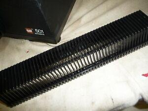 Slide projector slide cassette tray X1 50 slides FOR GAF 501 201 131 + others