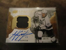16-17 ICE EXQUISITE PATCH AUTO 38/75 ANZE KOPITAR L.A. KINGS MATERIAL SIGNATURES