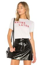 Wildfox Couture Women Maybe Later Maybe Never Vintage T-SHIRT Tee Top XS S M L